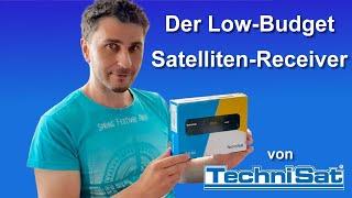Der Technisat HD-S 221 Low-Budget Sat-Receiver im Quick-Test
