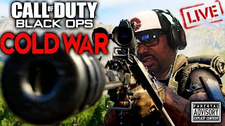 I'm Literally in SNIPER HELL...Black Ops Cold War LIVE😐😐