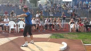 Jan Marcell- Shot Put PB - 20,93 - CZE, Ustí n. L.