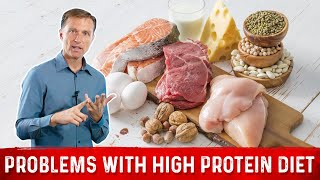 Problems with High Protein Diet | Dr Berg on Atkins Diet