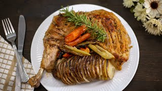 Hasselback Turkey | Easy Turkey Recipe | Spicy Turkey