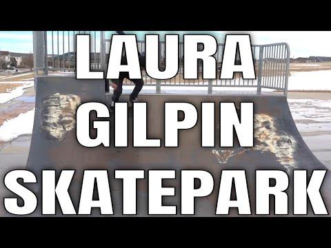 LAURA GILPIN SKATEPARK COLORADO SPRINGS, COLORADO!  THE SKATEPARK IN COLORADO NOBODY KNOWS ABOUT