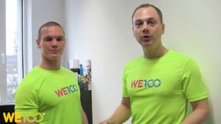 Back Examination On The Wall | We100 Office Fitness Videos | Eps 03