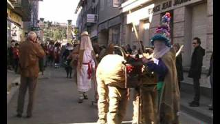 preview picture of video 'Altasuko Karnabala Limoux 2010. Limoux Carnival.'