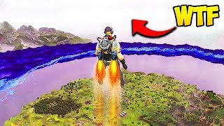 WHAT'S ABOVE THE STORM ON FORTNITE? - Fortnite Funny Fails and WTF Moments! #121 (Daily Moments)