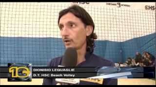 preview picture of video 'HONEY BEACH VOLLEY su Canale 10'