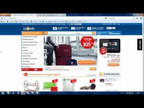Tutorial Cara Belanja Online Lazada