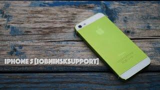 Обзор проекта iPhone 5 #iObninskSupport