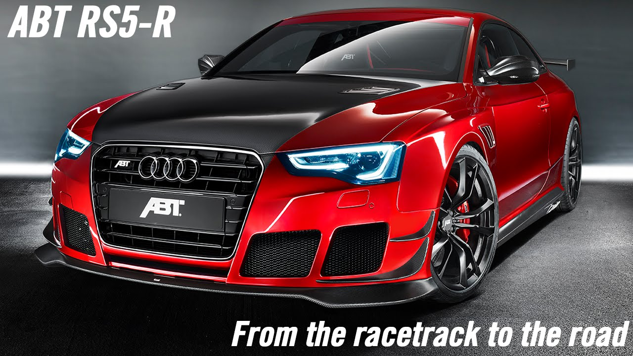 ABT Audi RS5-R: From the racetrack to the road