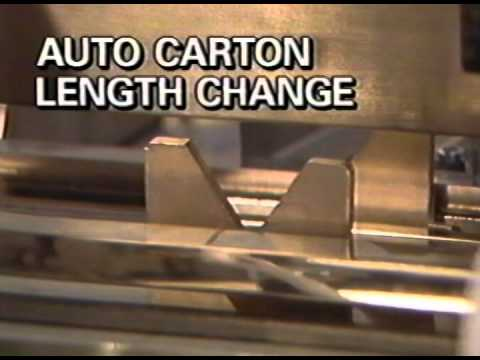 Cartoner Automatic Changeover