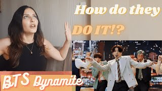 """80s ARE BACK?! BTS Performs """"Dynamite"""" 