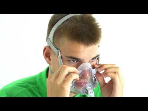 Indossare correttamente la maschera CPAP