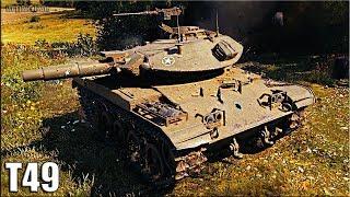 Т49 ЖЕСТЬ на ФУГАСАХ 🌟 БАБАХА 🌟 World of Tanks лучший бой на лт