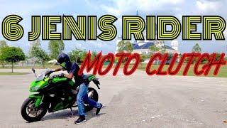 6 JENIS RIDER Moto Clutch
