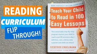 TEACH YOUR CHILD TO READ IN 100 EASY LESSONS! | HOMESCHOOL CURRICULUM REVIEW & FLIP THROUGH