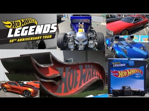 HOT WHEELS LEGENDS TOUR - Kickoff & What To Expect - CARS CARS & MORE CARS!