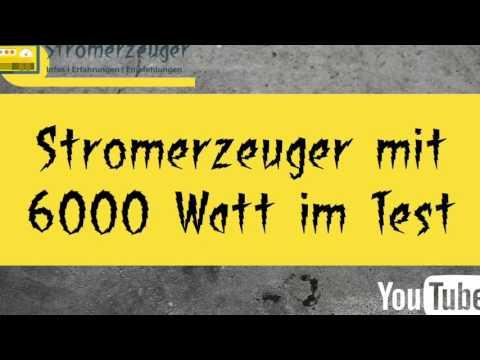 Stromerzeuger - Stromerzeuger mit 6 kW Leistung im Test auf stromerzeuger-info.de