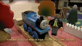 ThomasWoodenRailway's 5 Year Anniversary Video