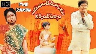 Edurinti Mogudu Pakkinti Pellam Telugu Full Length Comedy Movie    Rajendra Prasad, Divyavani