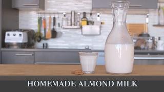 【素食 Vegan】自製無添加杏仁奶 / ASMR Homemade Almond Milk