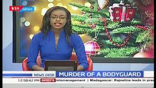 Embu Governor Martin Wambora's bodyguard killed by a bodaboda rider over payment
