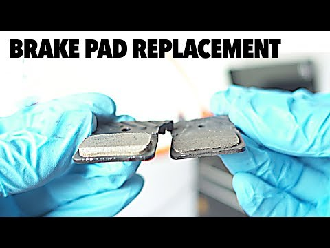 Tips on disc brake pad replacement - Shimano Road Disc maintenance