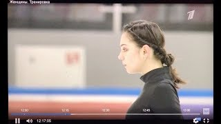 *Phone-recording* Евгения Медведева / Evgenia Medvedeva ❤️ - Final Cup of Russia Practice 2019.02.21