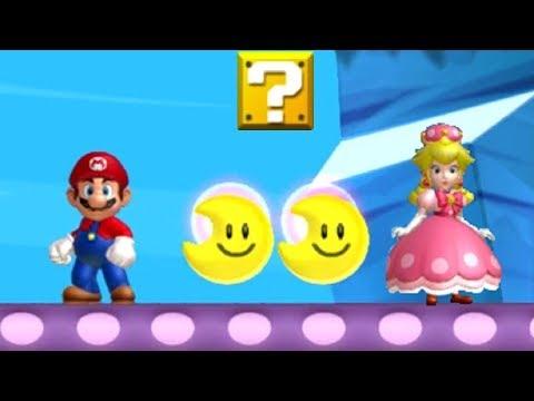 New Super Mario Bros U Deluxe Walkthrough New Super Mario Bros U Deluxe All Secret Exits With Peachette By