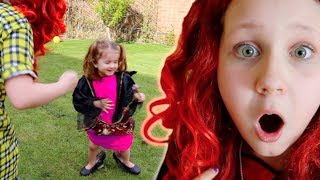 Princess Make-Up Routine and Makeover Pretend Play with Ruby Rube & Bonnie