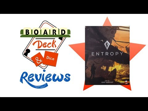 Board, Deck and Dice Review #138 - Entropy