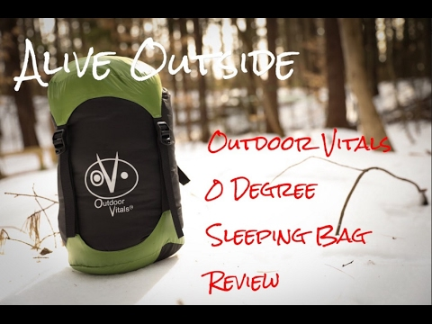 Outdoor Vitals 0 degree sleeping bag review