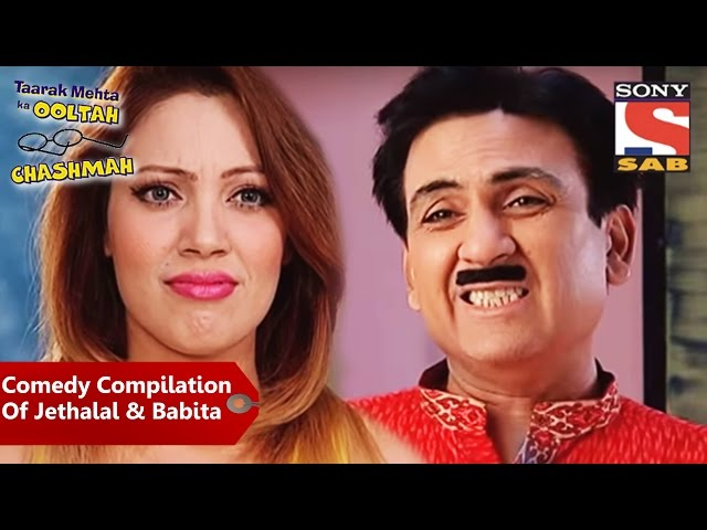 Comedy Compilation Of Jethalal Babita | Mp3FordFiesta.com Taarak Mehta Ka Ooltah Chashmah Jethalal And Babita Ji Hot