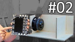 #2 DIY mini PA System - Subwoofer Gehäuse + Amp löten
