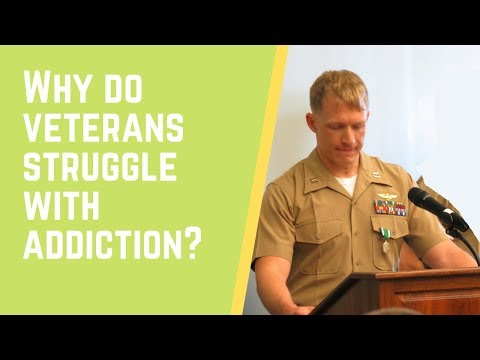 Part 6:  Why do Veterans Struggle with Addiction? by Garret Biss