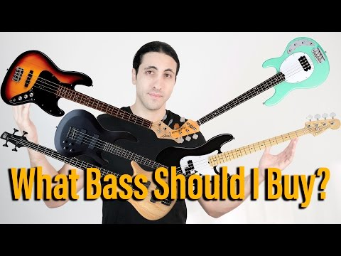 What Bass Should I Buy? (The Bass Wizard Q+A)