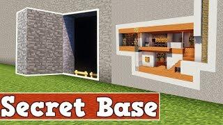 Hier Findet Dich Niemand | Wie Baut Man Eine Geheime Basis In Minecraft | Minecraft Versteck Bauen
