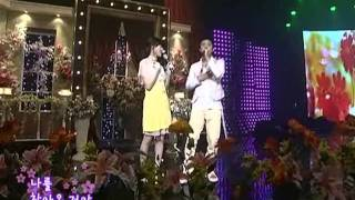 Eunjiwon&Heoijae - Couple+Lady @SBS Inkigayo 인기가요 20080511