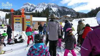 スノーパーク Eriz SkiPark 2018.03.04【スイス情報.com】