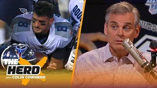 It's time to stop doubting Dak Prescott & for Titans to move on from Mariota —Colin | NFL | THE HERD