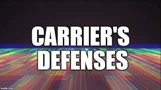 Defenses of a common carrier