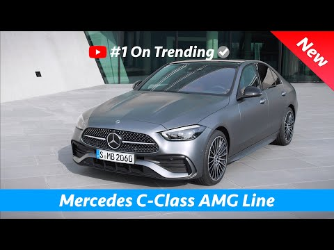 Mercedes C-Class 2022 - FIRST Look Exterior - Interior (AMG Line) | Small S-Class!