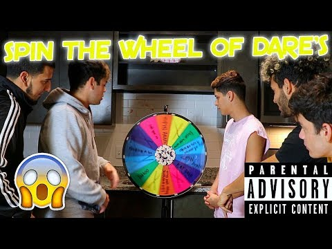 SPIN THE WHEEL OF DARES ROULETTE CHALLENGE !!!