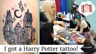 Getting A Tattoo! My Harry Potter Tattoo Of Hogwarts Castle | @laurenfairwx