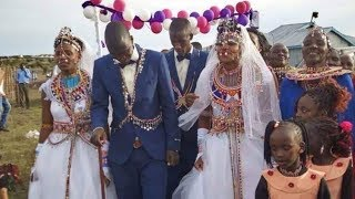Maasai Marital Warrior: The Marry-one, get one free wedding in Kajiado County