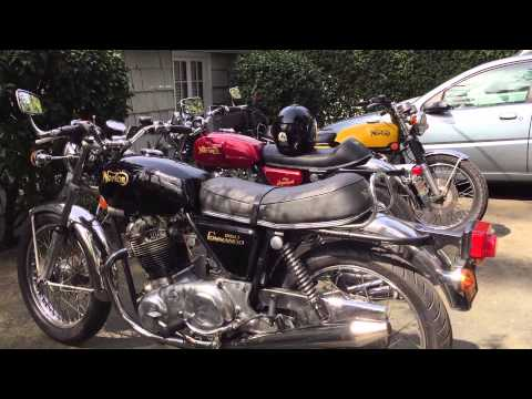 Norton Motorcycle Enthusiasts Club Meet Video