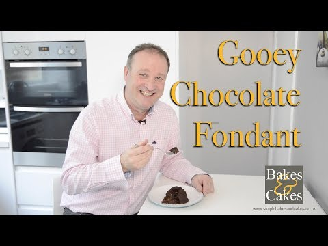 How to make hot gooey chocolate fondant dessert: Video recipe