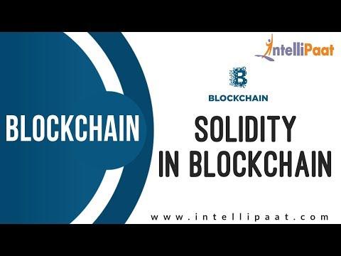 Solidity in Blockchain