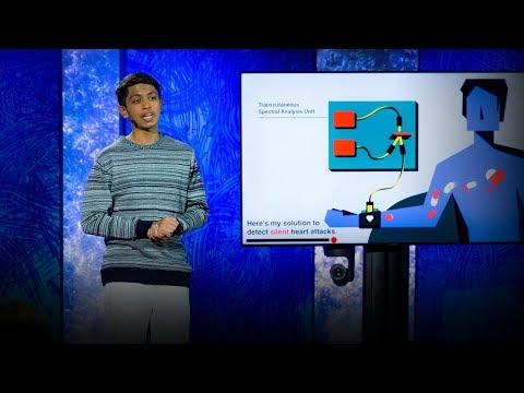A life-saving device that detects silent heart attacks | Akash Manoj