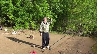 Места для рыбалки в ленинской пойме