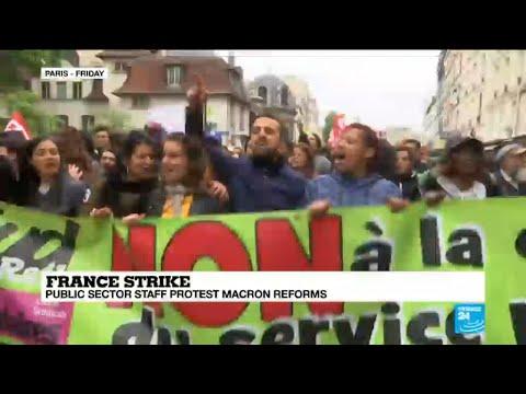 France faces massive public sector strike